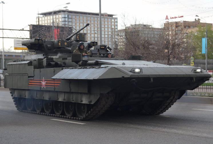 Западный эксперт о боевой машине пехоты Т-15