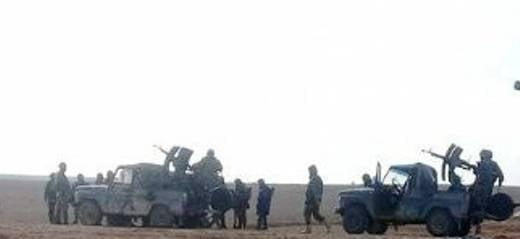 УАЗы-3151 превращены в Сирии в боевые машины