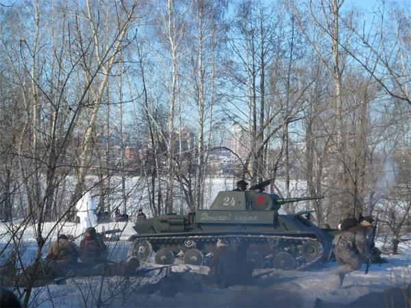 О военно-исторической реконструкции боёв за Воронеж