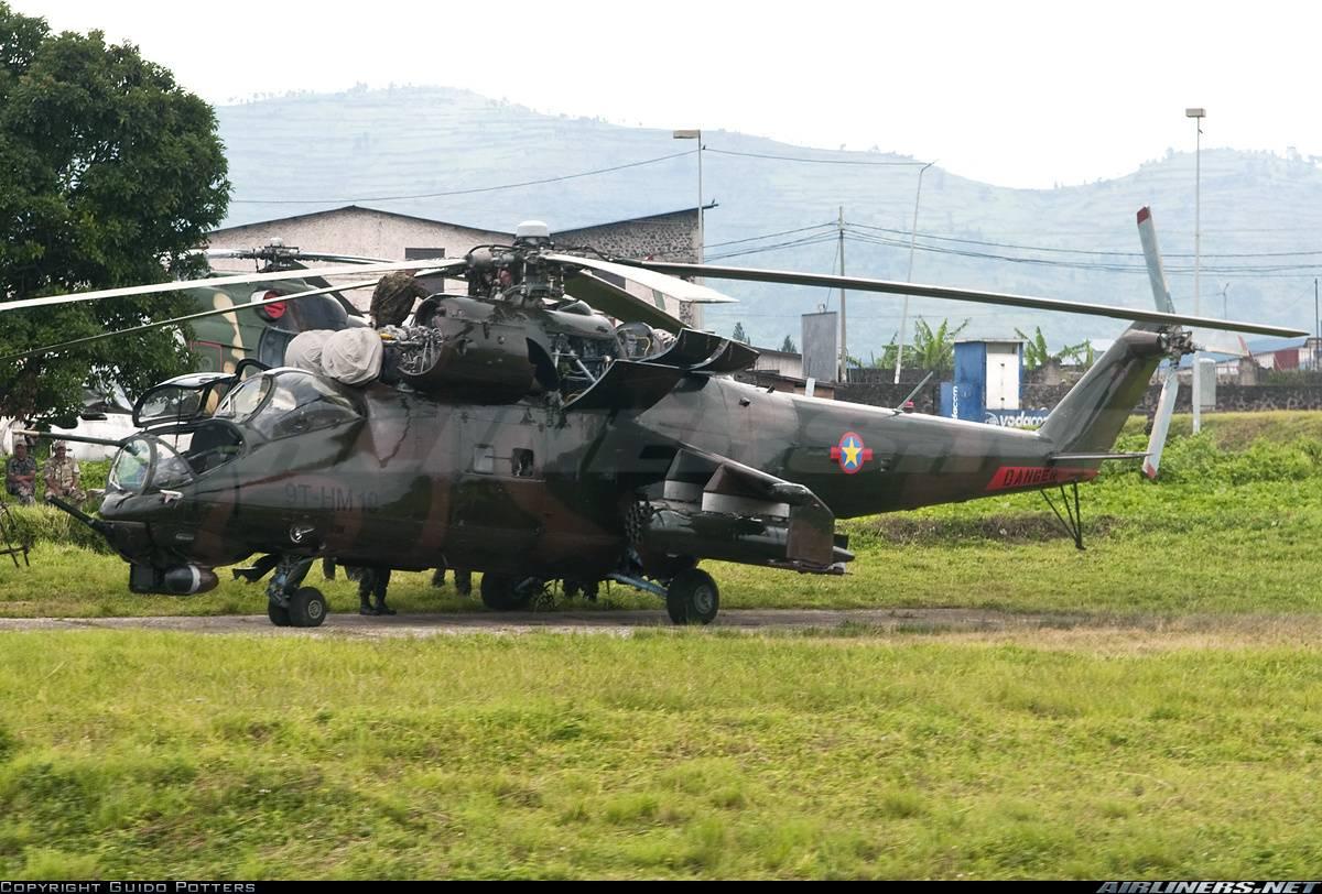 Два русских пилота погибли при крушении вертолета вКонго