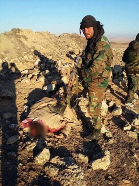 Успешные действия армии САР в районе Эль-Баба