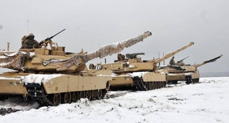 Часть американских танков из Польши перебросят к российским границам