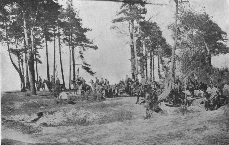 Стратегическая конница.  Русская кавалерия в Прибалтике в апреле - мае 1915 г. Ч. 2