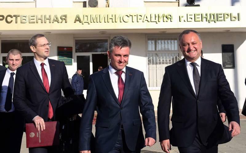 Позитивные итоги личной встречи президентов Молдавии и ПМР