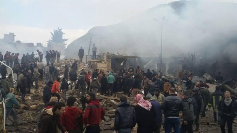 Крупный теракт в сирийском Аазазе. Не менее 60 погибших