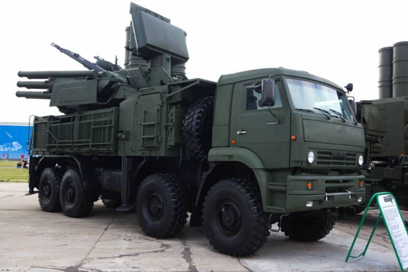 В Крыму заступил на дежурство комплекс «Панцирь-С»
