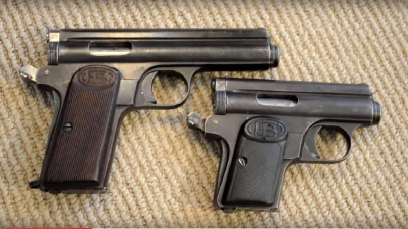 Пистолеты венгерского оружейника Рудольфа фон Фроммера (часть 3)