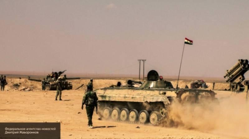 Сирийская Армия возобновила контртеррористическую операцию под Дамаском