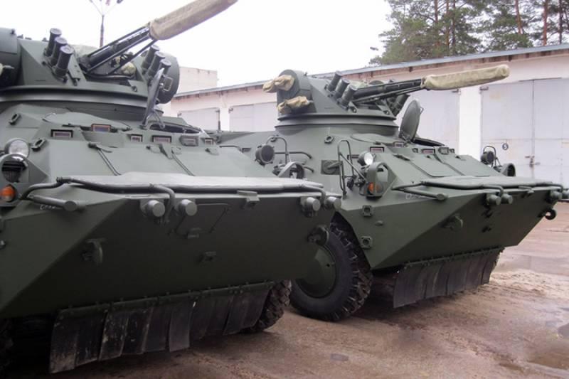 Киевский завод в 2016 г передал силовикам 51 новый БТР-3Е1Д