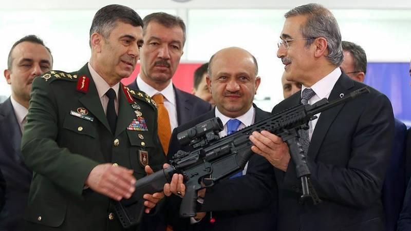 Турецкая армия получила первую партию штурмовых винтовок MPT-76