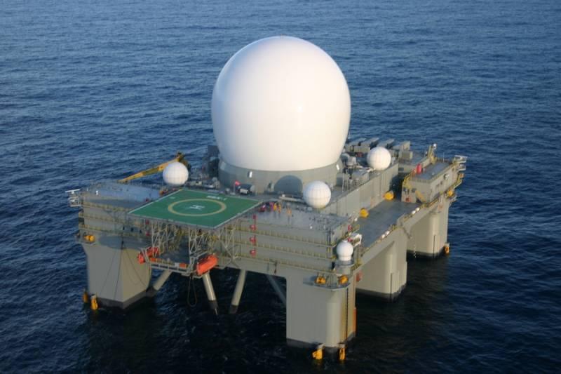 США перебазировали радарную установку SBX для слежения за ракетными пусками КНДР