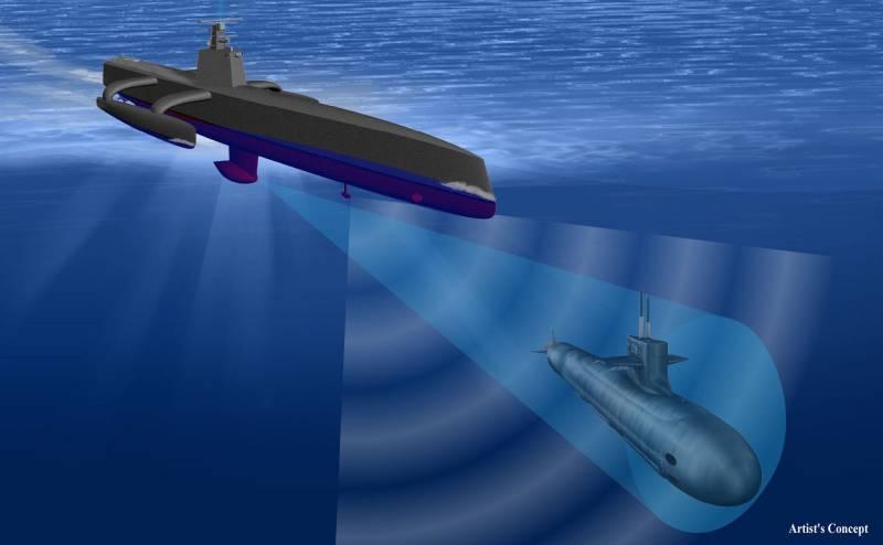 Испытания корабля-робота «Морской охотник» в США продлятся до осени 2017