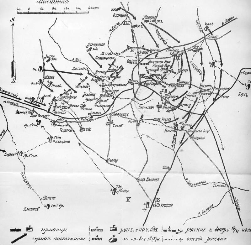 Слоеные пироги Русского фронта. Ч. 1. Танненберг наоборот
