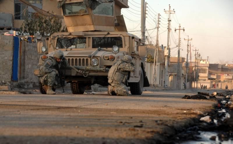 Иракские войска предприняли успешную атаку в восточном Мосуле