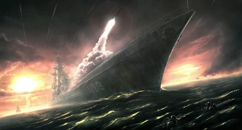 Крейсер и эсминец. Правила боя