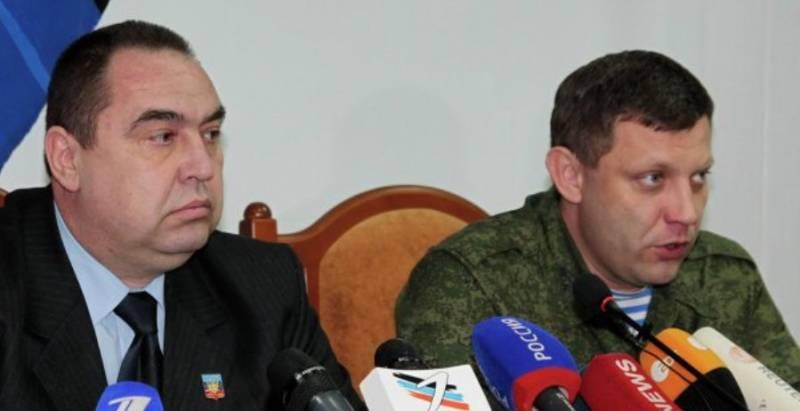 Крымский визит глав ДНР и ЛНР
