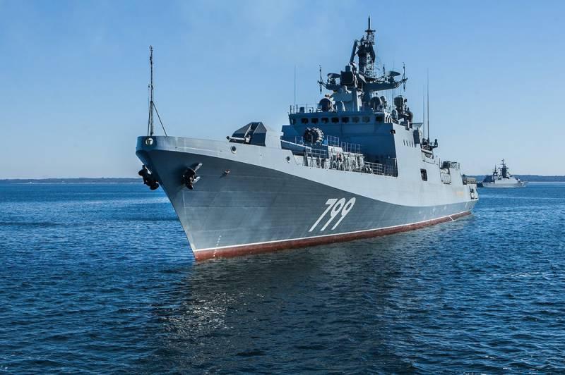 «Адмирал Макаров» перешел к стрельбам в рамках программы госиспытаний