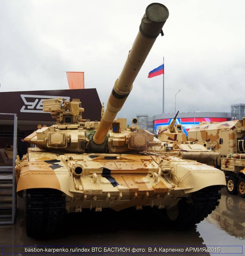 Таиланд вновь обратил внимание на российские Т-90