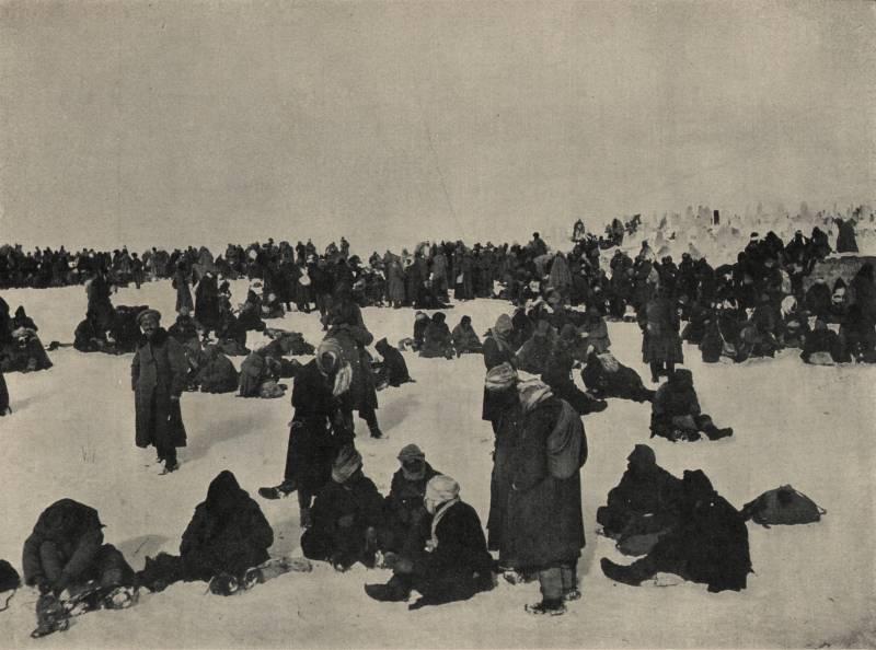 Военнопленные как потери и трофеи на Русском фронте Первой мировой