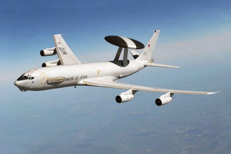 Зафиксирована беспрецедентная активность западных военных самолетов