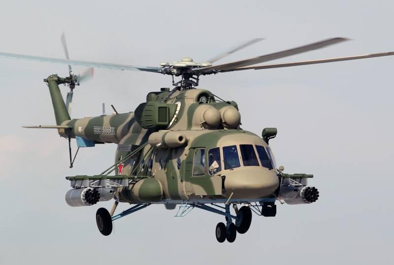 Росгвардия получит три вертолета Ми-8АМТШ
