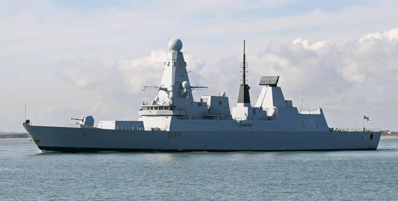 В этом году в Одессу прибудет с визитом британский эсминец