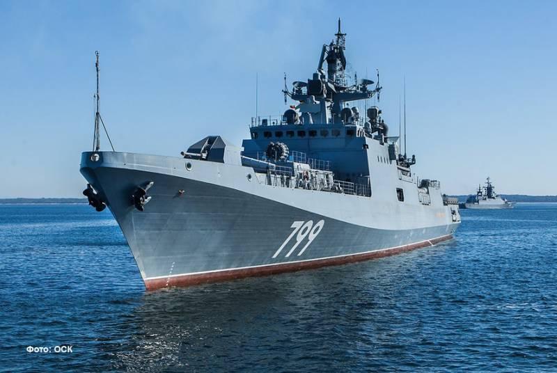 «Адмирал Макаров» завершил прохождение госиспытаний