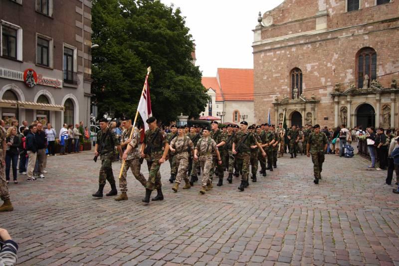 В Латвии могут появиться новые добровольческие батальоны