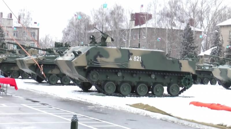 Рязанские десантники получили партию новой бронетехники