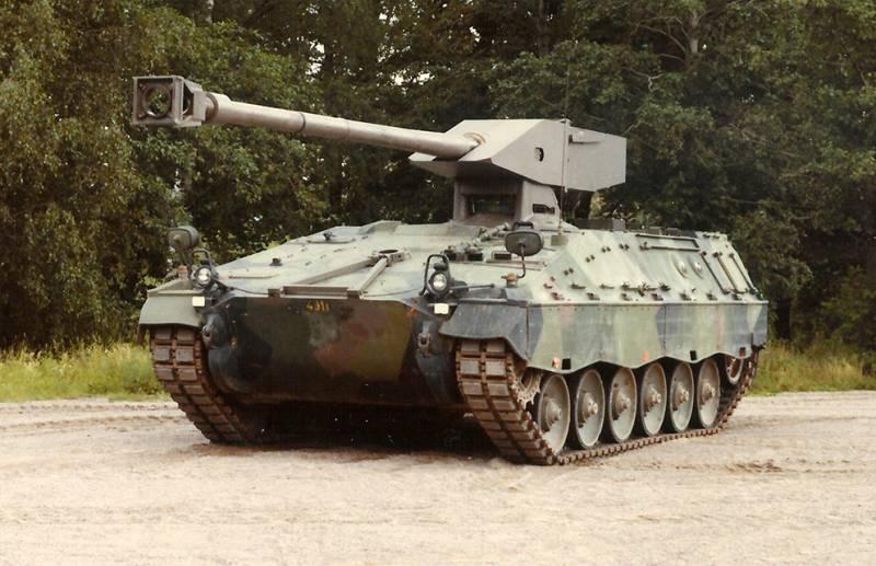 Проект легкого танка UDES 19 (Швеция)