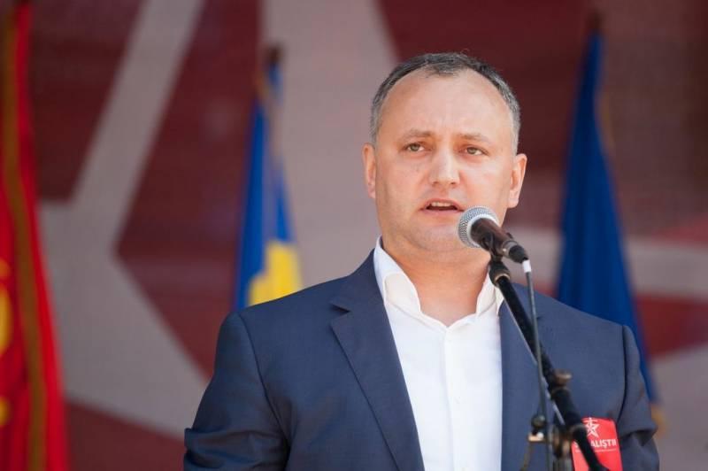 Программа действий нового президента Молдавии