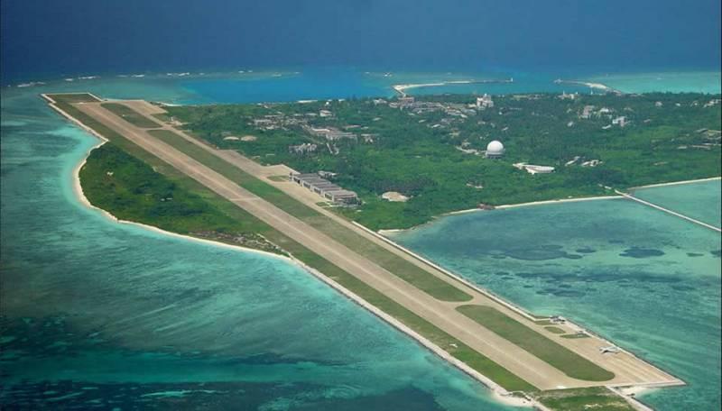 Китай заявил о суверенном праве на архипелаг Спратли