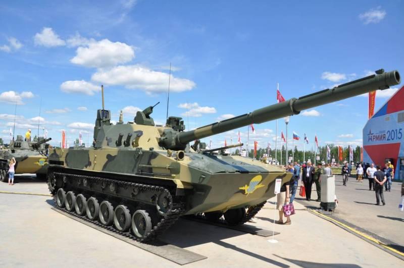 """Самоходная противотанковая пушка """"Спрут-СДМ1"""" начнет поступать в ВДВ в 2017 году"""
