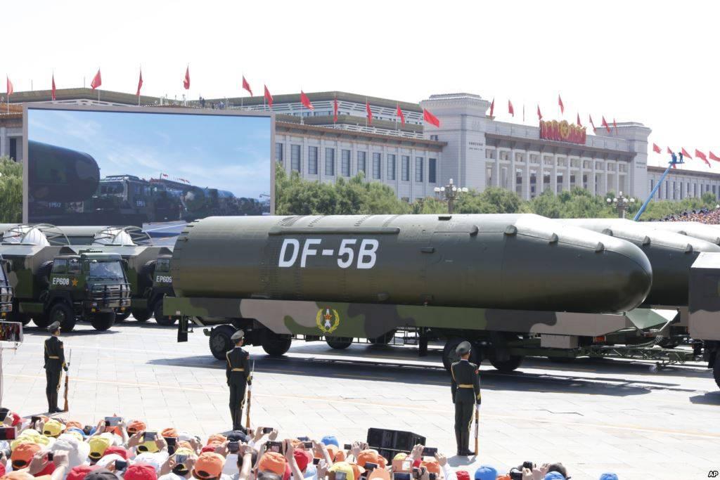 Ракета с10 боеголовками была испытана в Китайская республика