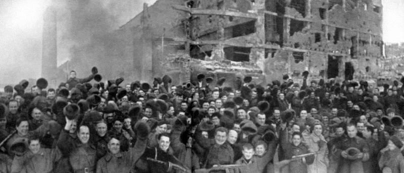 स्टेलिनग्राद की लड़ाई में विजय दिवस