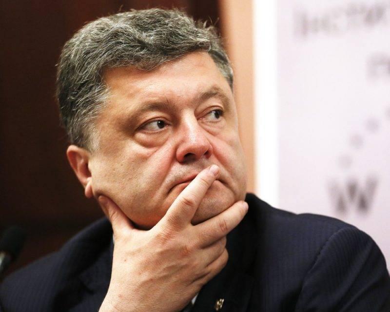 Порошенко желает отмены антироссийских санкций
