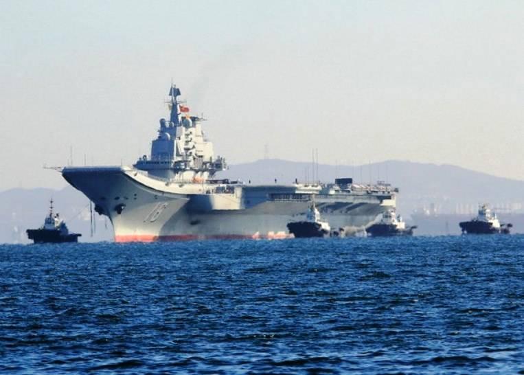 Первый авианосец китайского производства спустят на воду в текущем году