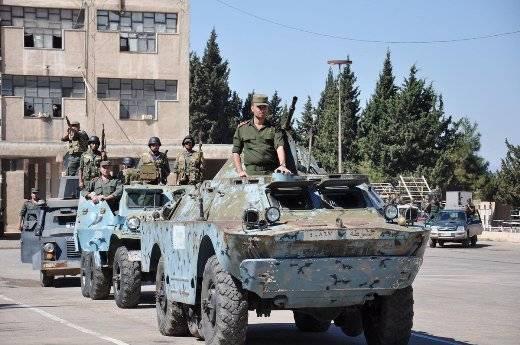 Модернизация БРДМ-2 в Сирии