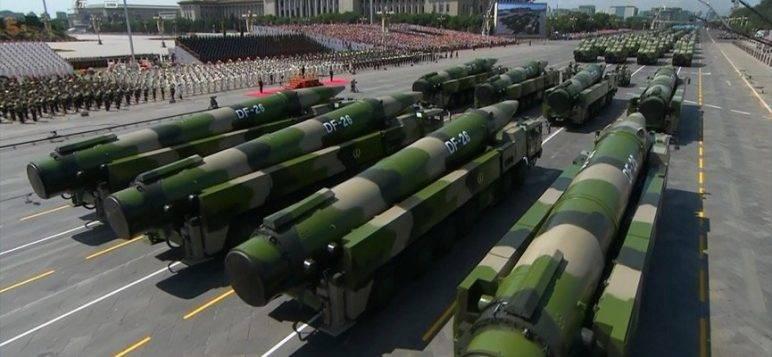 Китай назвал запуск 10-блочной ракеты научным испытанием