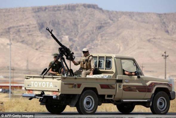 Успех совместной операции войск Асада и курдов