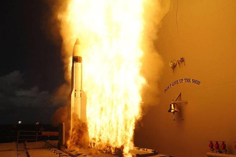 США и Япония провели на  Гавайях испытание ракеты-перехватчика