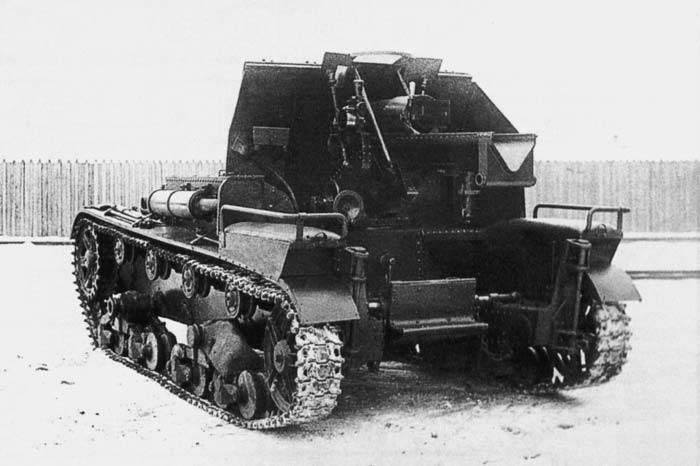 Артиллерия. Самоходные гаубицы Второй мировой войны. СУ-5 (часть 1)