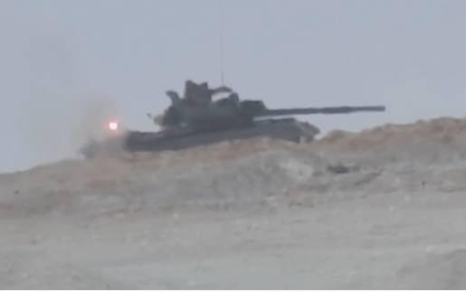 Сирийский Т-62М выдержал попадание противотанковой ракеты