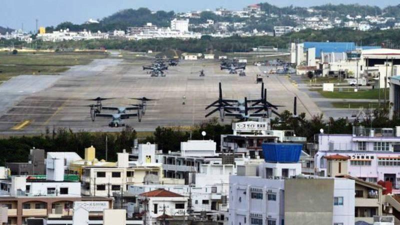 На Окинаве возобновлено строительство военного аэродрома США