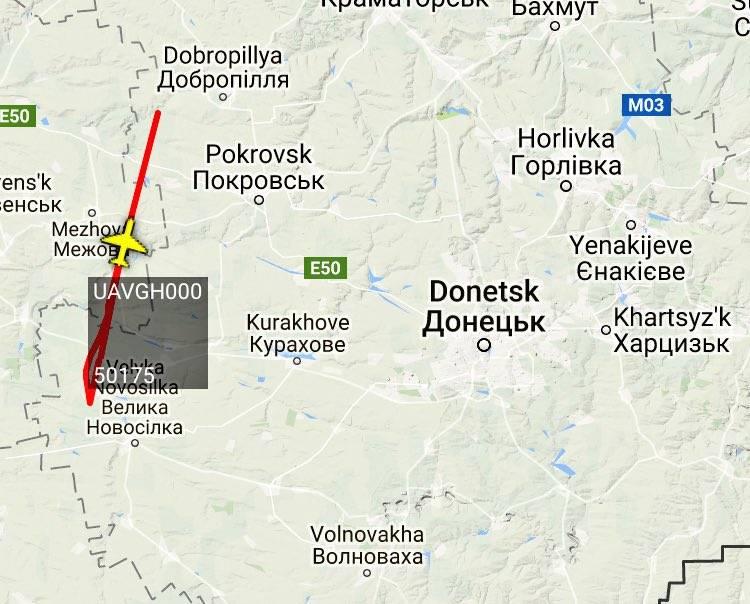 Американский БПЛА типа RQ-4 Global вновь замечен над Украиной