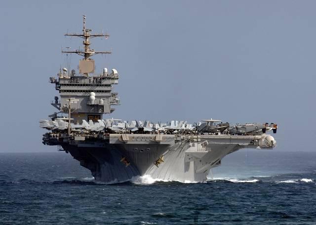 ВМС США попрощались с «Энтерпрайзом»