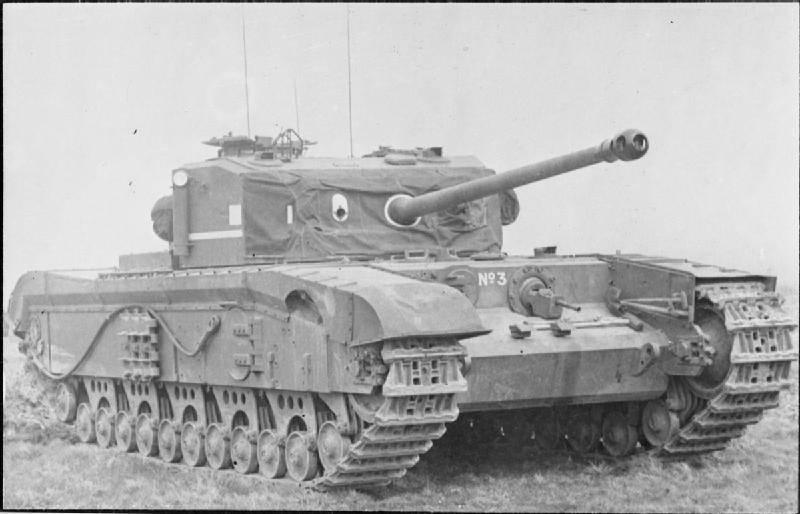 Пехотный танк A43 Black Prince (Великобритания)