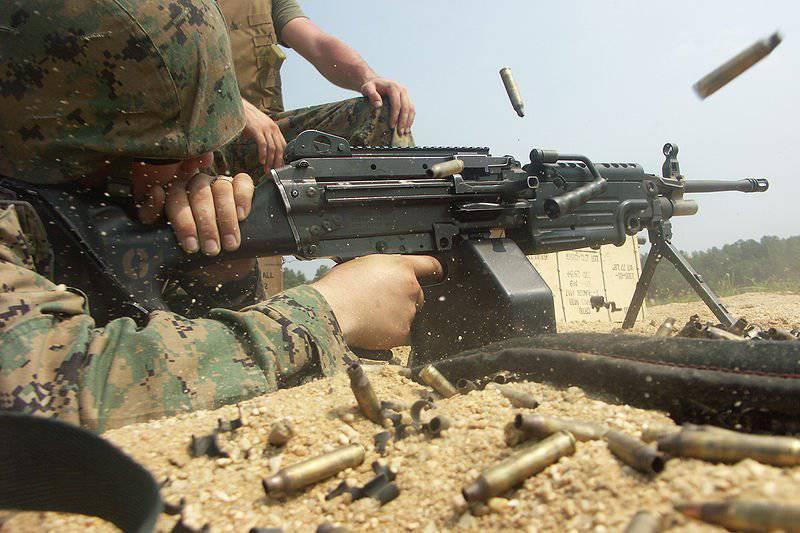 М249 чуть не убил американского солдата