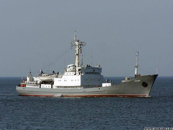 Разведывательный корабль «Кильдин» вошел в состав средиземноморской группировки
