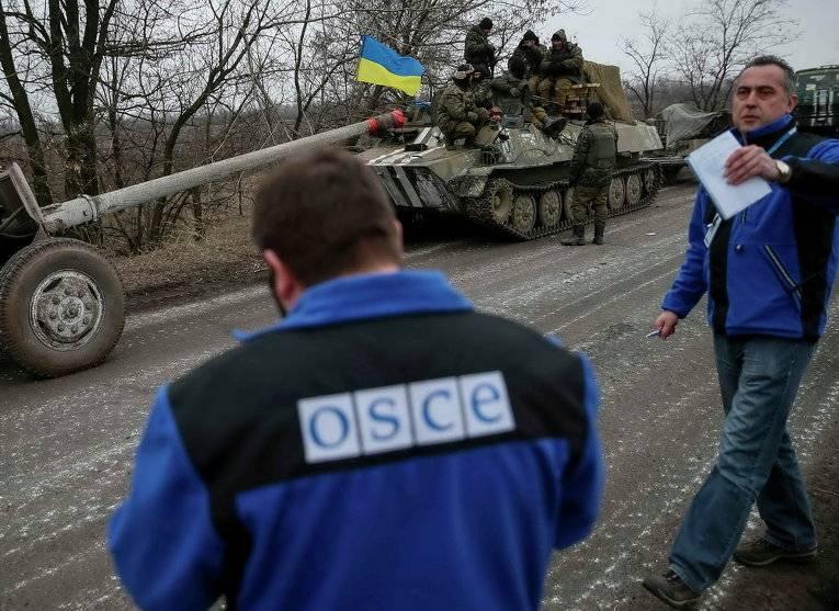ОБСЕ зафиксировала запрещенное оружие в районе Мариуполя